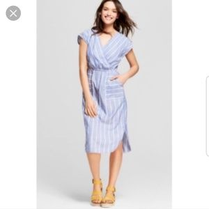 Universal Thread Chambray Stripe Dress